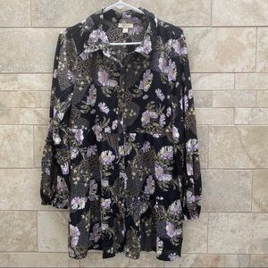 Style & Co Floral Tunic
